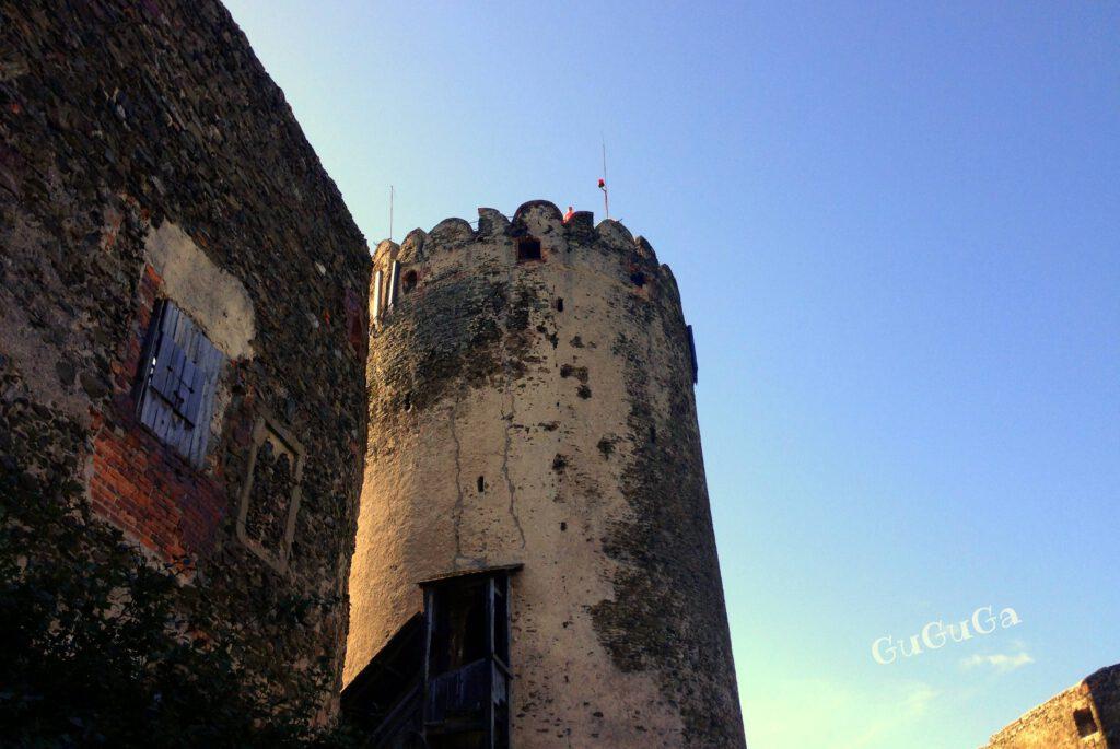 zamek bolków baszta