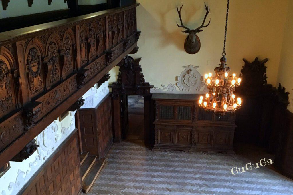 zamek czocha sala rycerska
