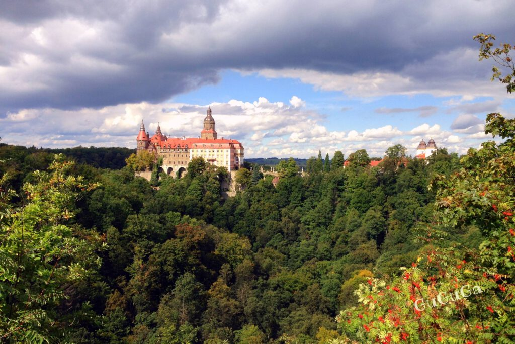 zamek książ punkt widokowy