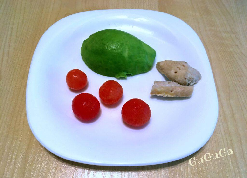awokado pomidorki kurczak