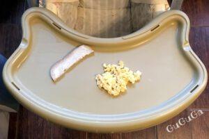 jajecznica dla niemowlaka blw