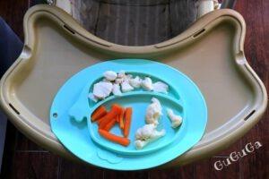 gotowana ryba dla niemowlaka