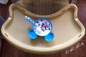 jogurt z borówkami blw