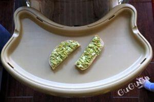 kanapka z awokado blw