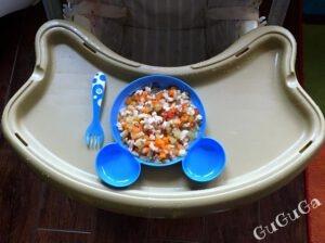 warzywa z indykiem - domowy słoiczek
