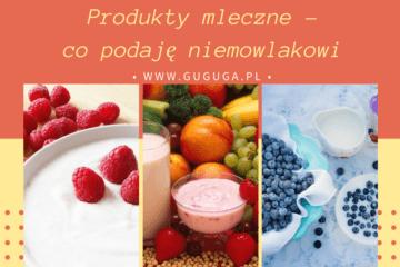 Produkty mleczne dla niemowlaka