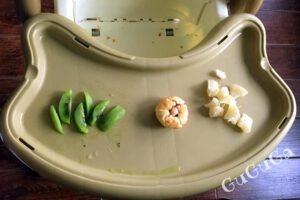 Kiwi, pomelo i muffinka blw