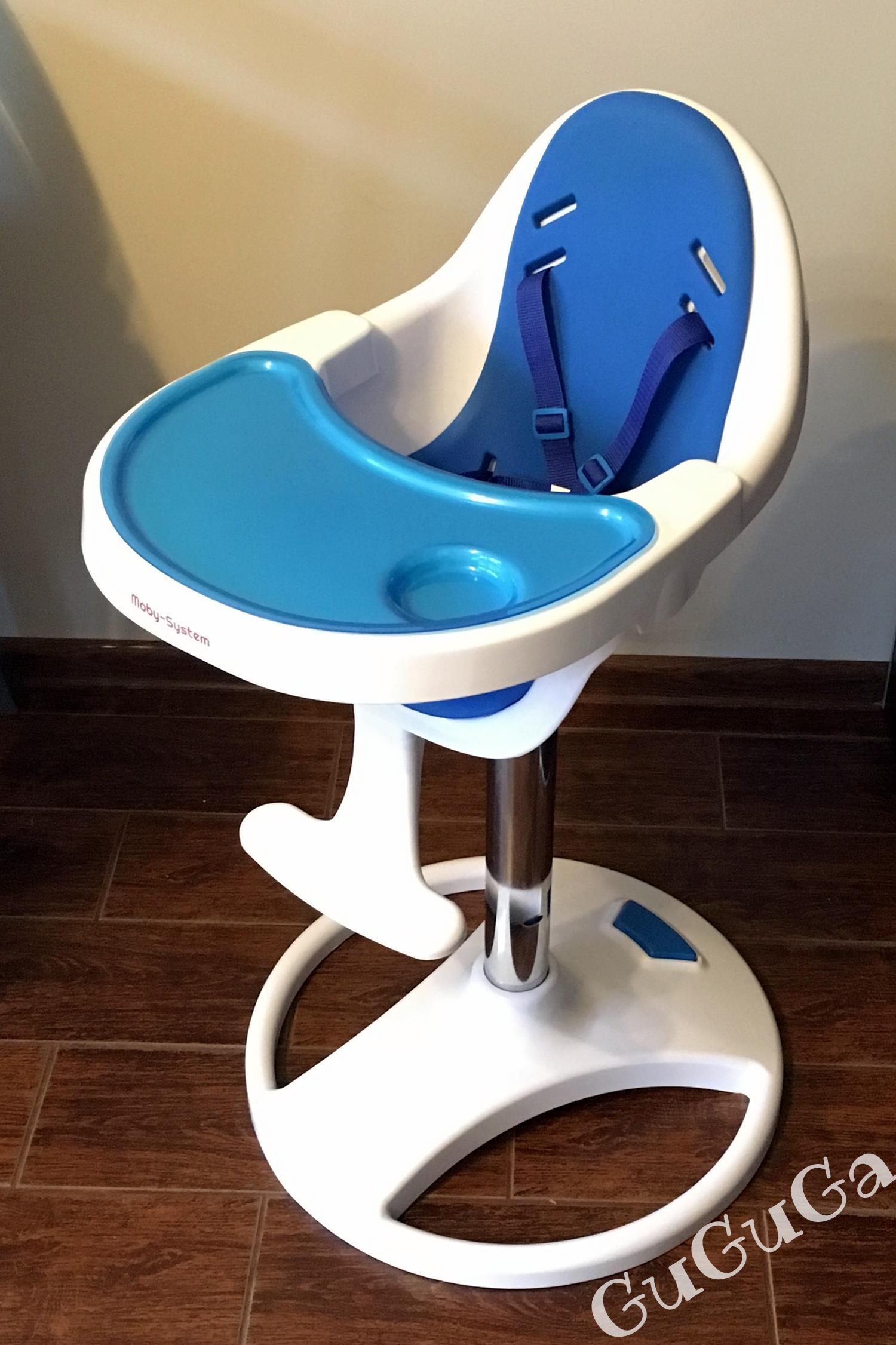 Obrotowe krzesełko do karmienia