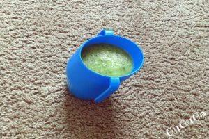 Koktajl zielony nr 2 dla niemowlaka