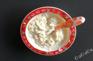 Jogurt naturalny z jabłkiem blw