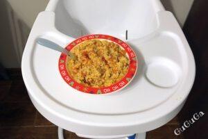 Kasza jaglana z pomidorami blw