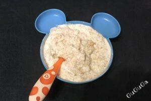 Płatki owsiane z jogurtem blw
