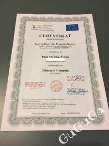 certyfikat guguga