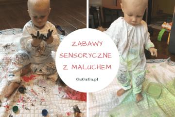 Zabawy sensoryczne z maluchem