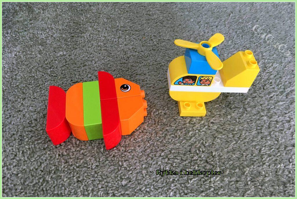 lego duplo ryba helikopter