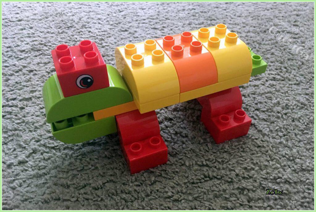 lego duplo żółw